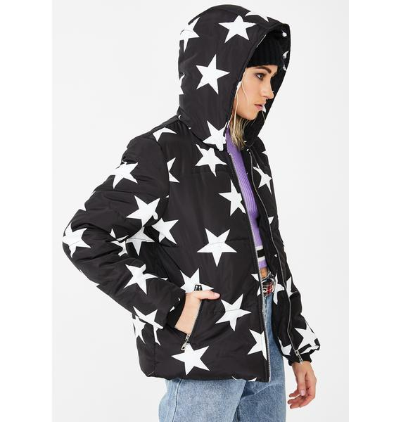 VIGOSS Star Puffer Jacket