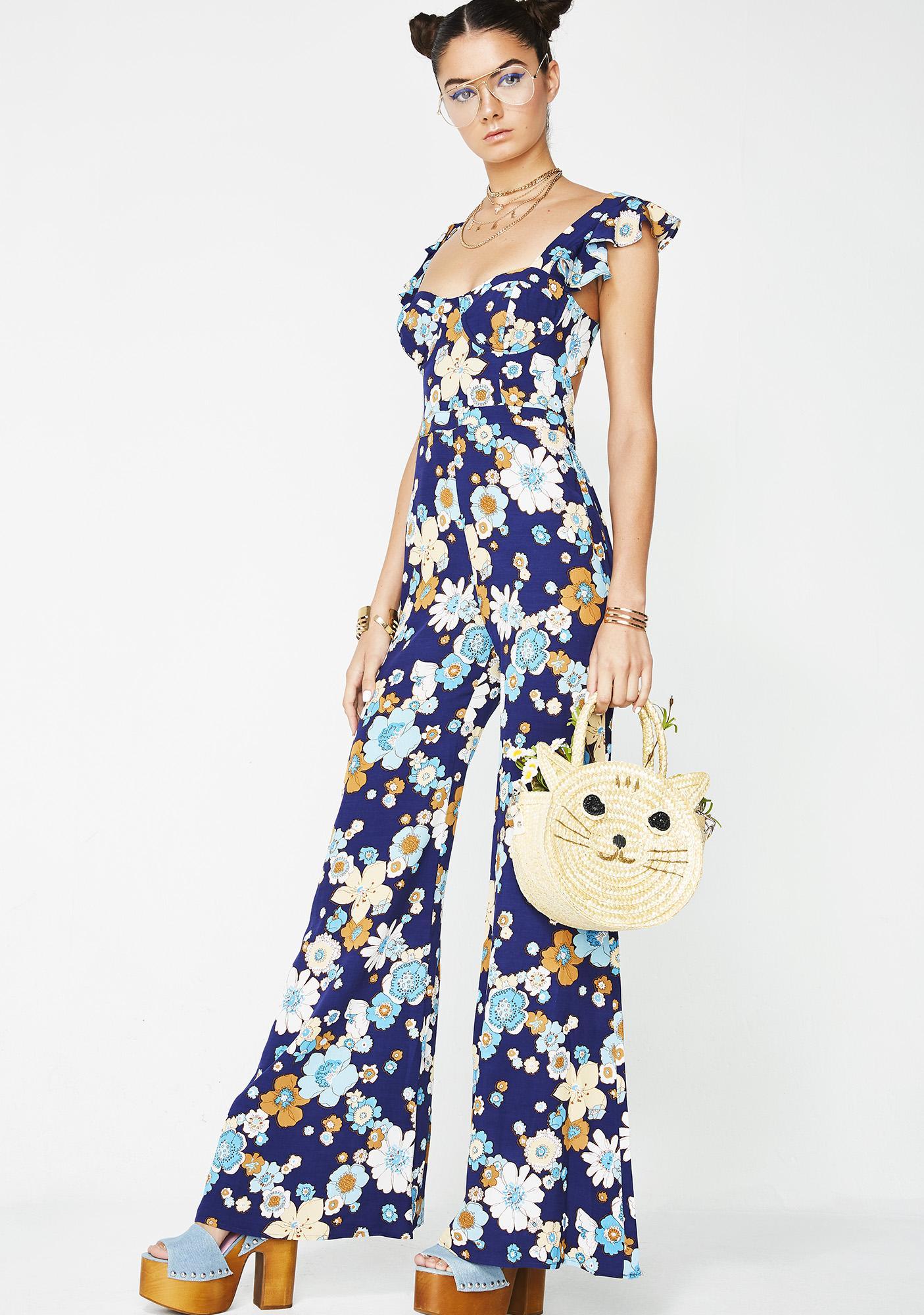 adc10434769 ... For Love   Lemons Magnolia Ruffled Jumpsuit ...