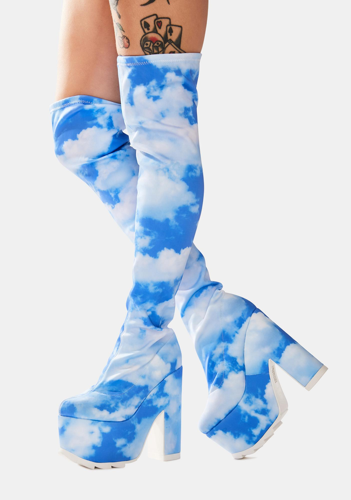 Y.R.U. Dreamer Thigh High Boots