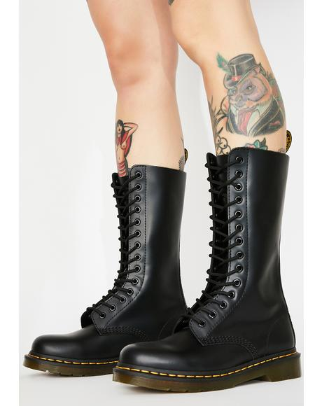 1914 Smooth Combat Boots