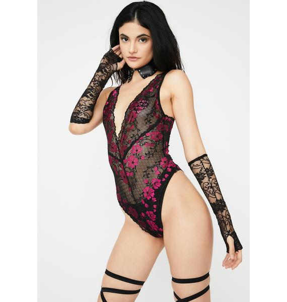 Oh la la Cheri Born To Perform Lace Teddy