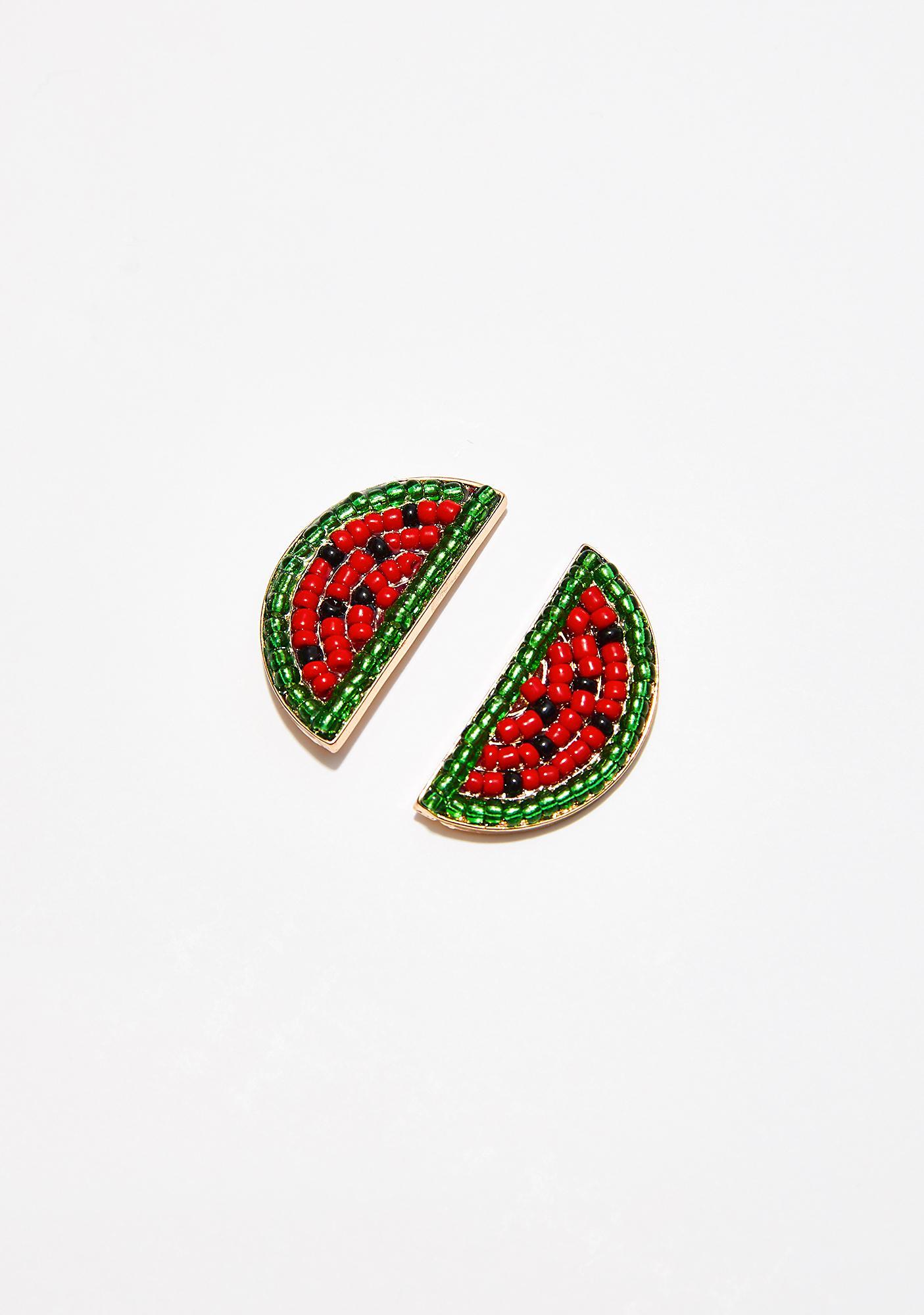 Make It Juicy Watermelon Earrings