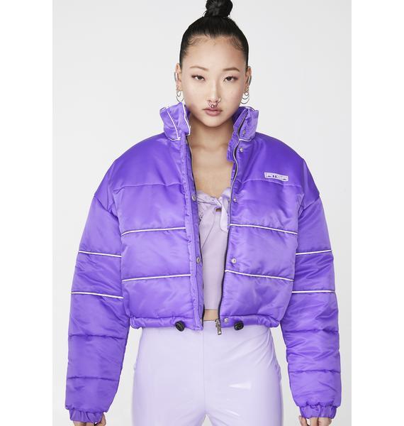 I AM GIA Grape Hersilla Jacket