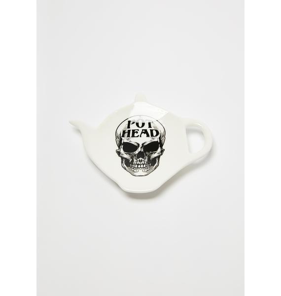 Alchemy England Pot Head Teaspoon Holder