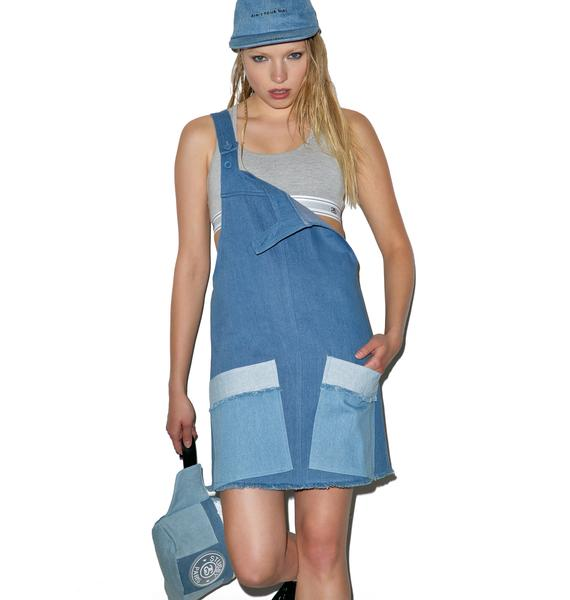 Stussy Tilted Denim Overall