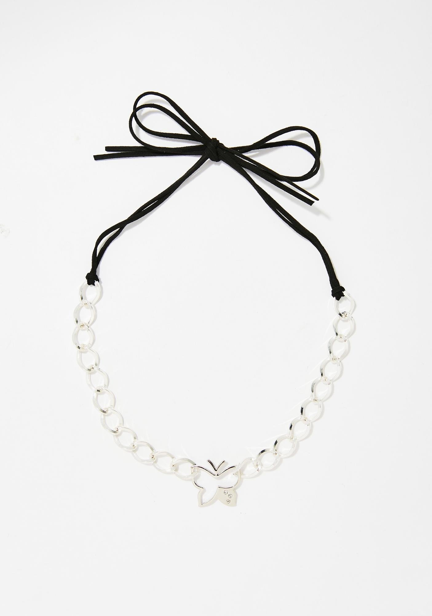 Come My Lady Butterfly Choker