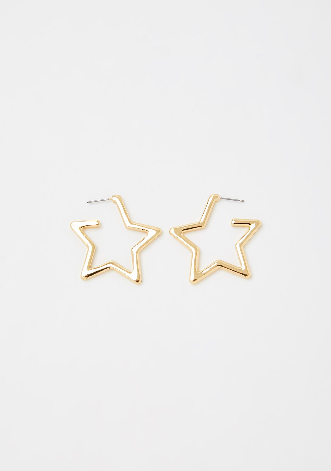 Wishin' For Me Star Earrings