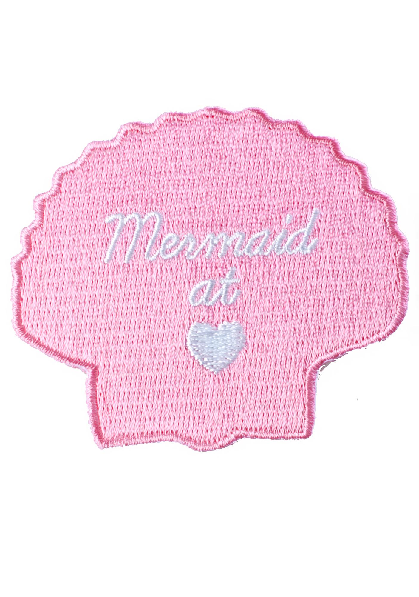 Mermaid At Heart Patch