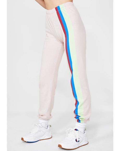 Mellow Stripes Easy Sweats