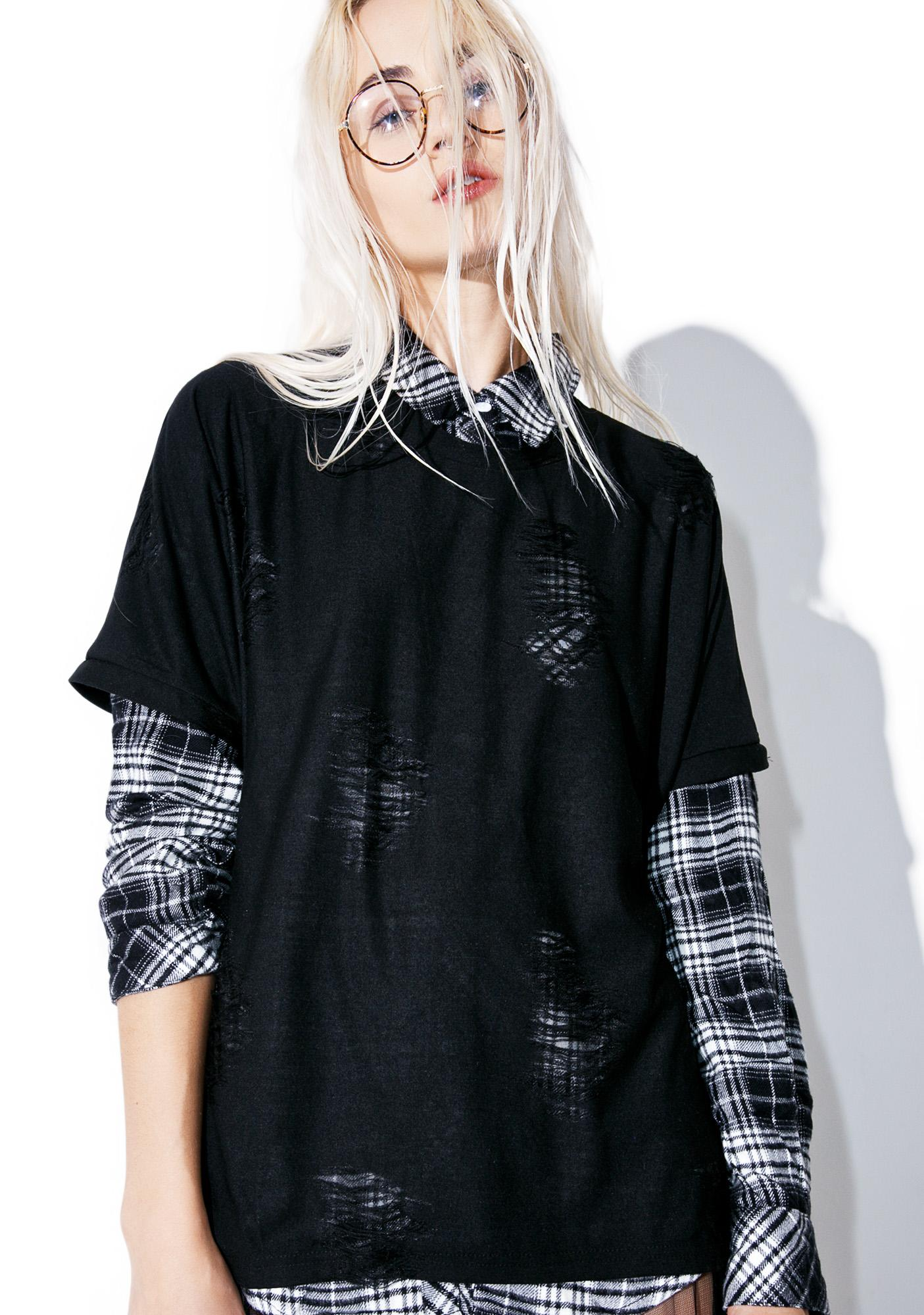 Dark Havoc Distressed Tee