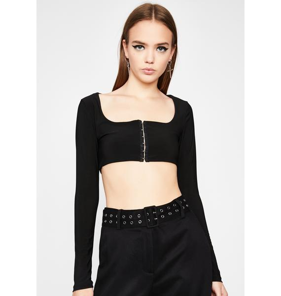 Stay Hooked Crop Top