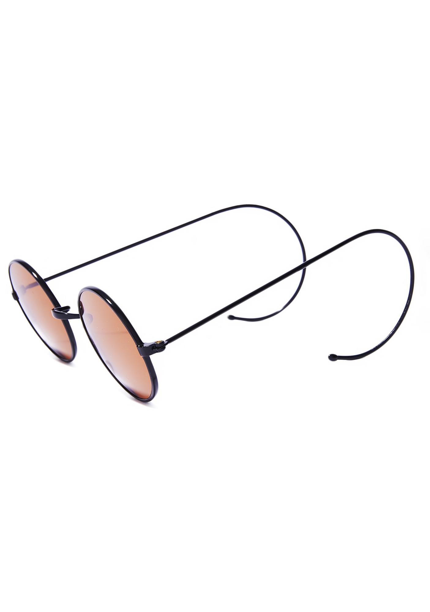 Bronze Peacemaker Round Sunnies