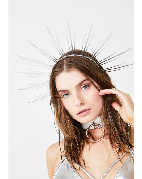 Angela Halo Crown Headpiece