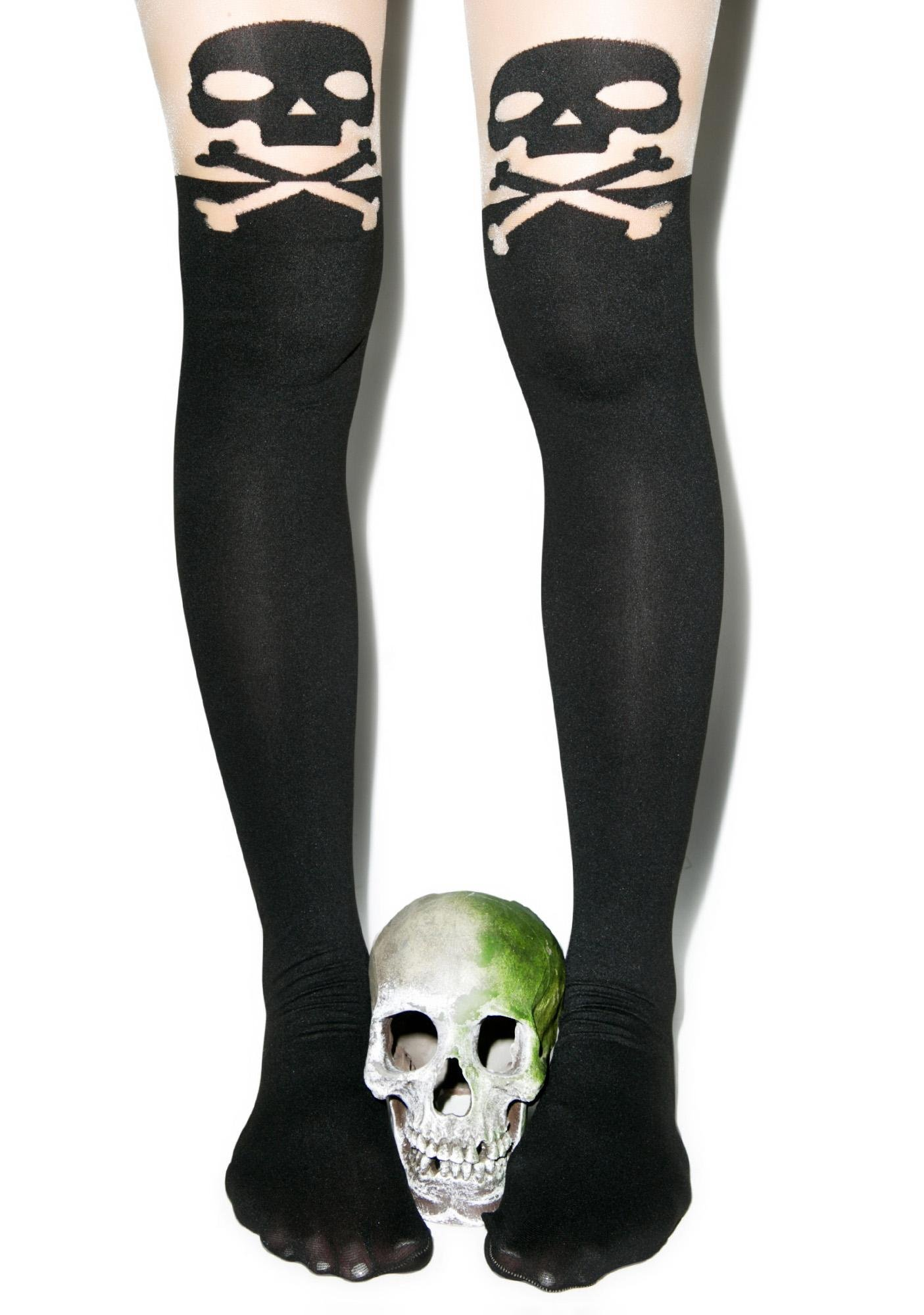 Cross My Bones Hope To Die Tights
