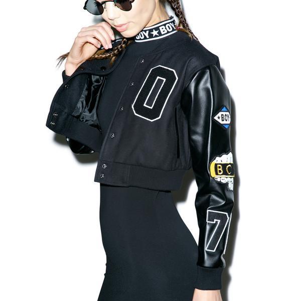 BOY London BOY Knuckle Varsity Jacket