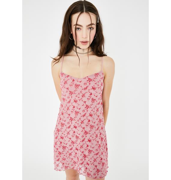 Motel Love Bloom Sanita Mini Dress