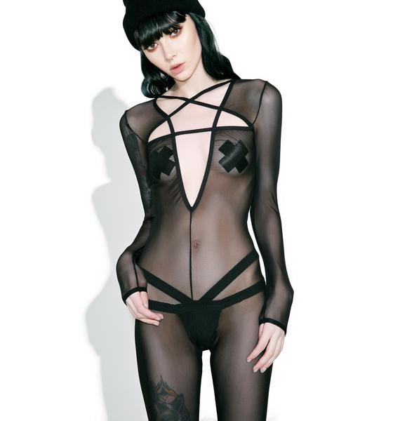 Current Mood Hell'z Trial Mesh Catsuit