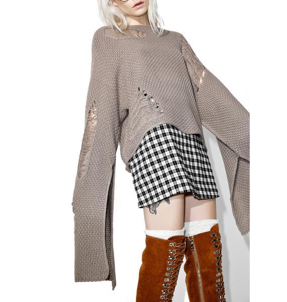 Big Sky Shredded Sweater