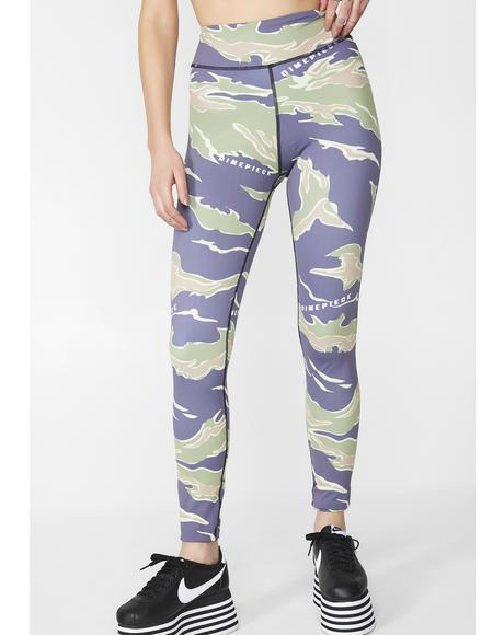 Camo Sports Leggings