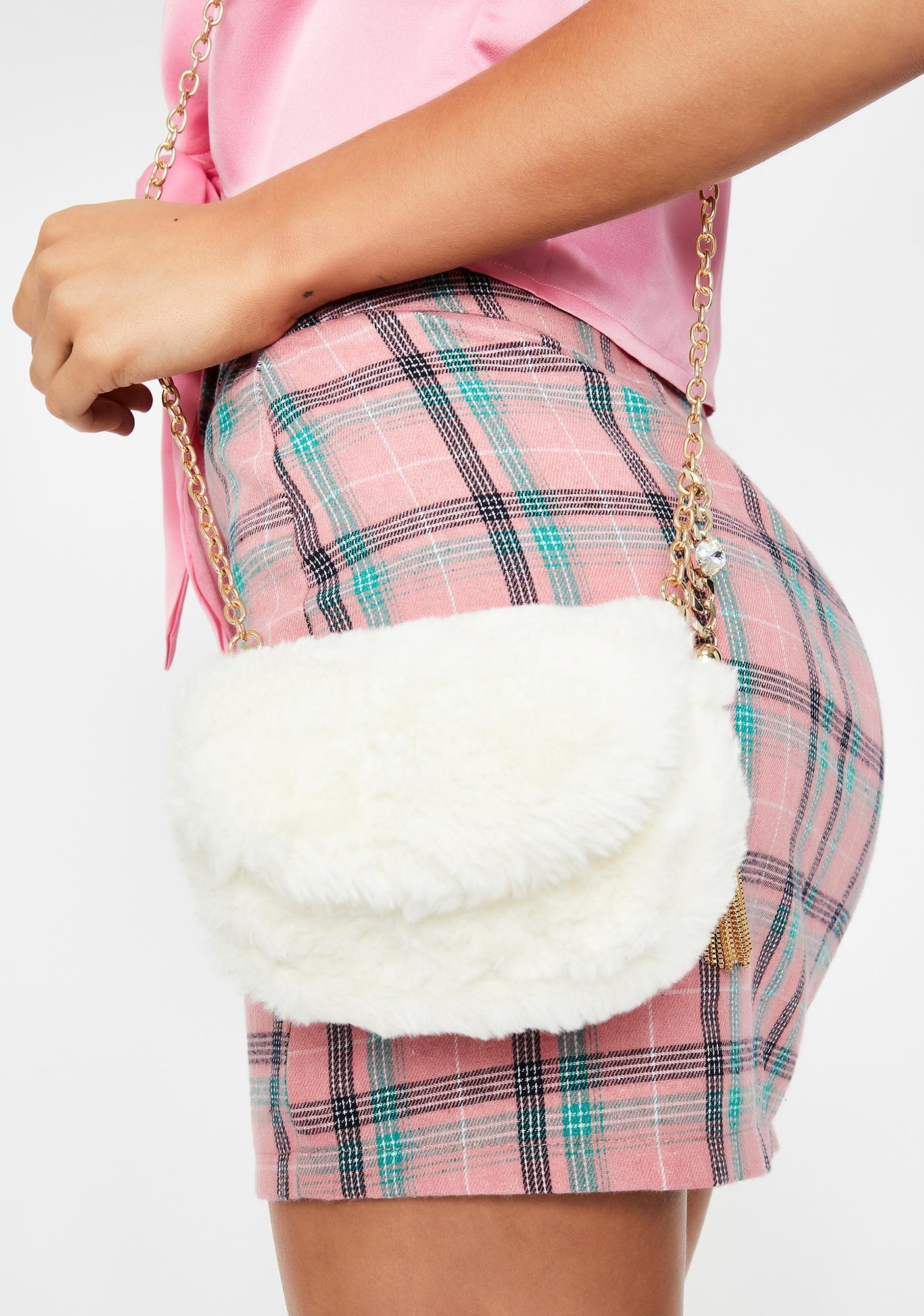 Fuzzy Feelz Crossbody Bag