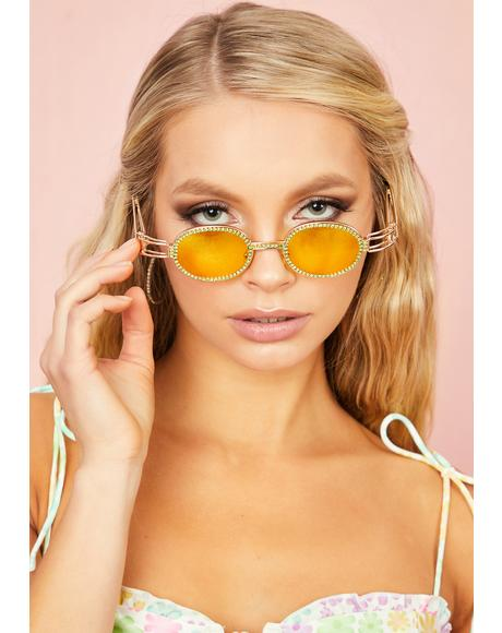 Sunny Beverly Hills Rhapsody Oval Sunglasses
