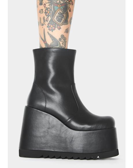 City Stomper Platform Boots