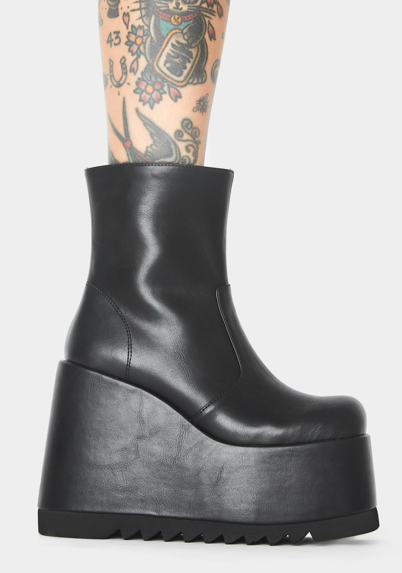 Current Mood City Stomper Platform Boots