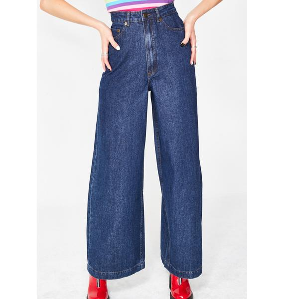 Lazy Oaf Rainbow Bum Jeans