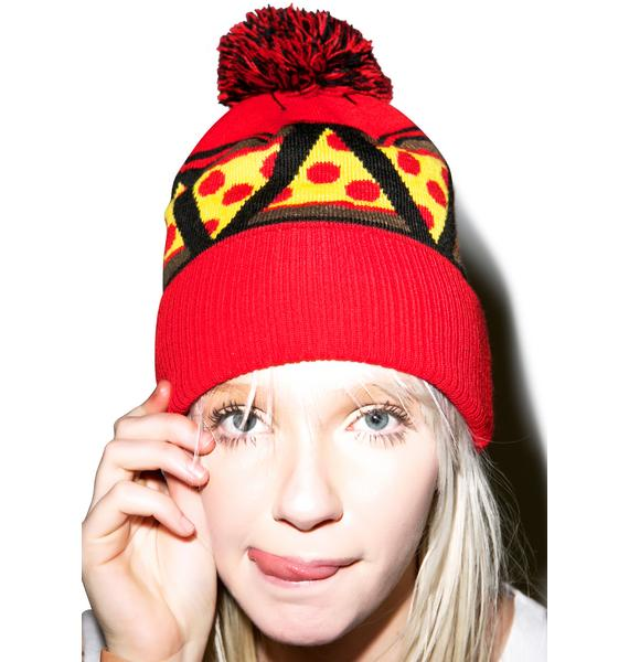 Sourpuss Clothing Pizza Knit Beanie