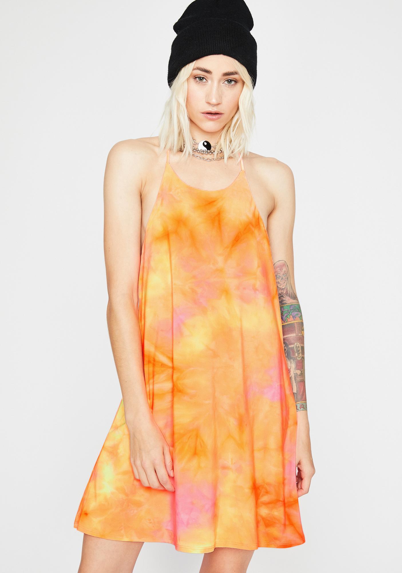 Juicy Sweet Elixir Tie Dye Dress
