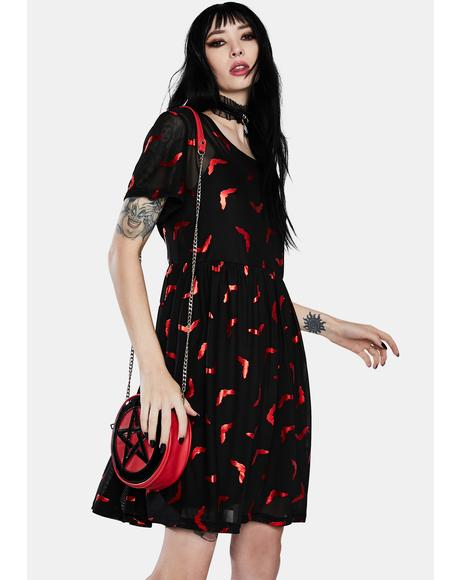 Spooky Season Mini Dress