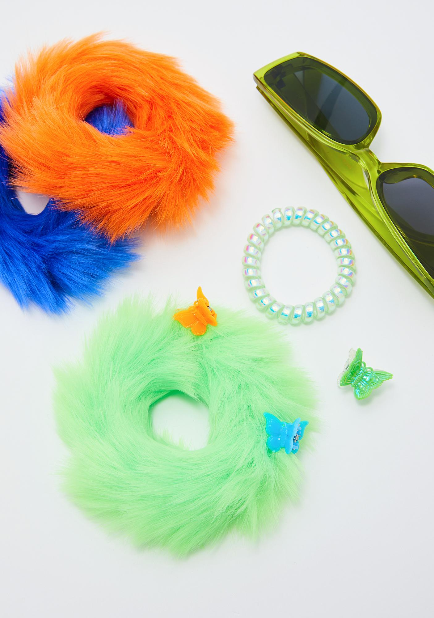 Good Luck Trolls x Dolls Kill Troll Hair Scrunchies