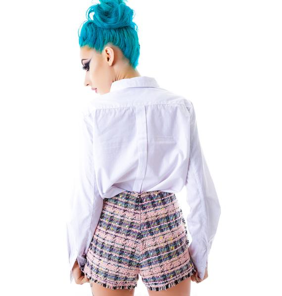 Cocos Fantasy Tweed Shorts