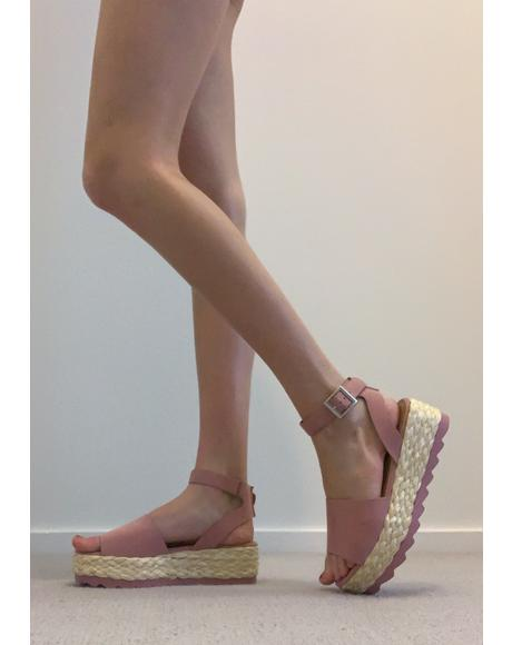 Blush Never Enough Espadrille Sandals