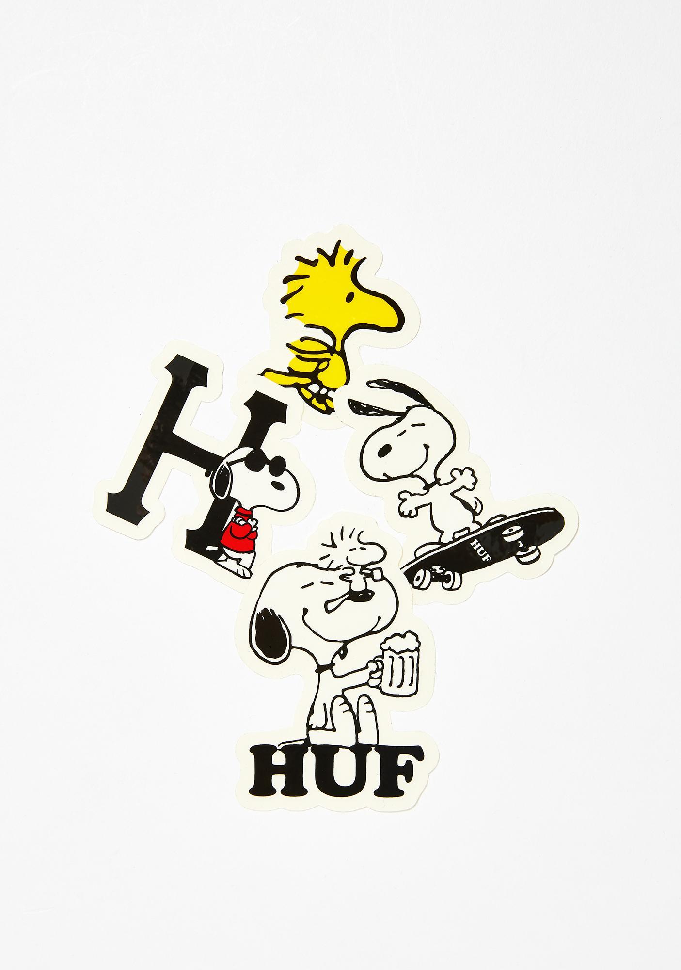 HUF Peanuts Sticker Pack