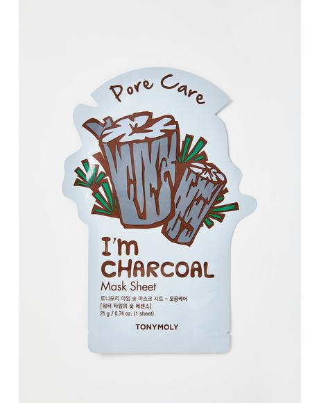 Charcoal I'm Real Sheet Mask