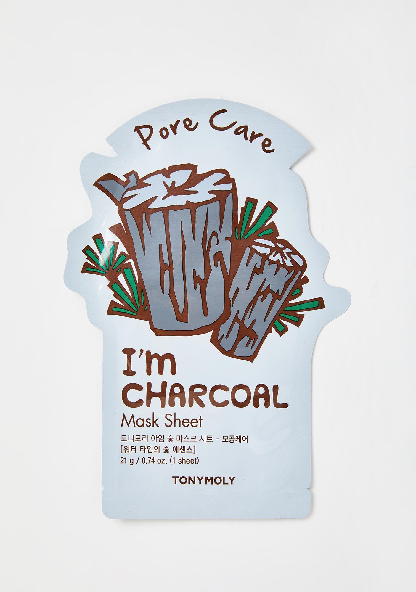 TONYMOLY Charcoal I'm Real Sheet Mask