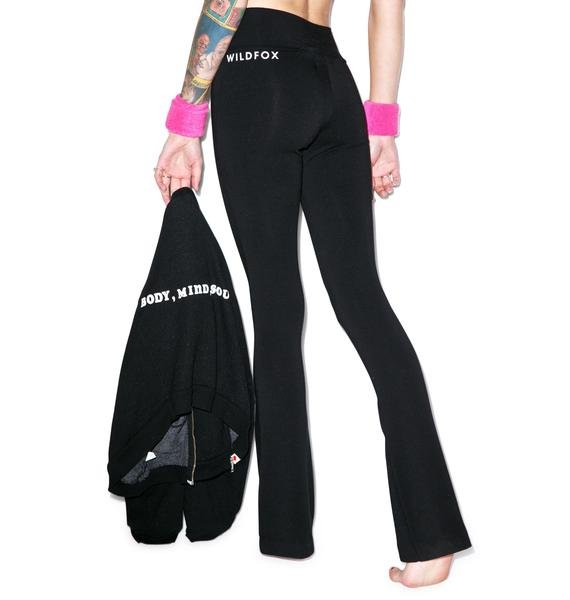 Wildfox Couture Classic Fox Perfect Yoga Pants