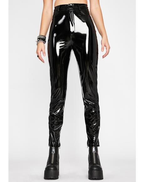 Daring Lover Vinyl Pants