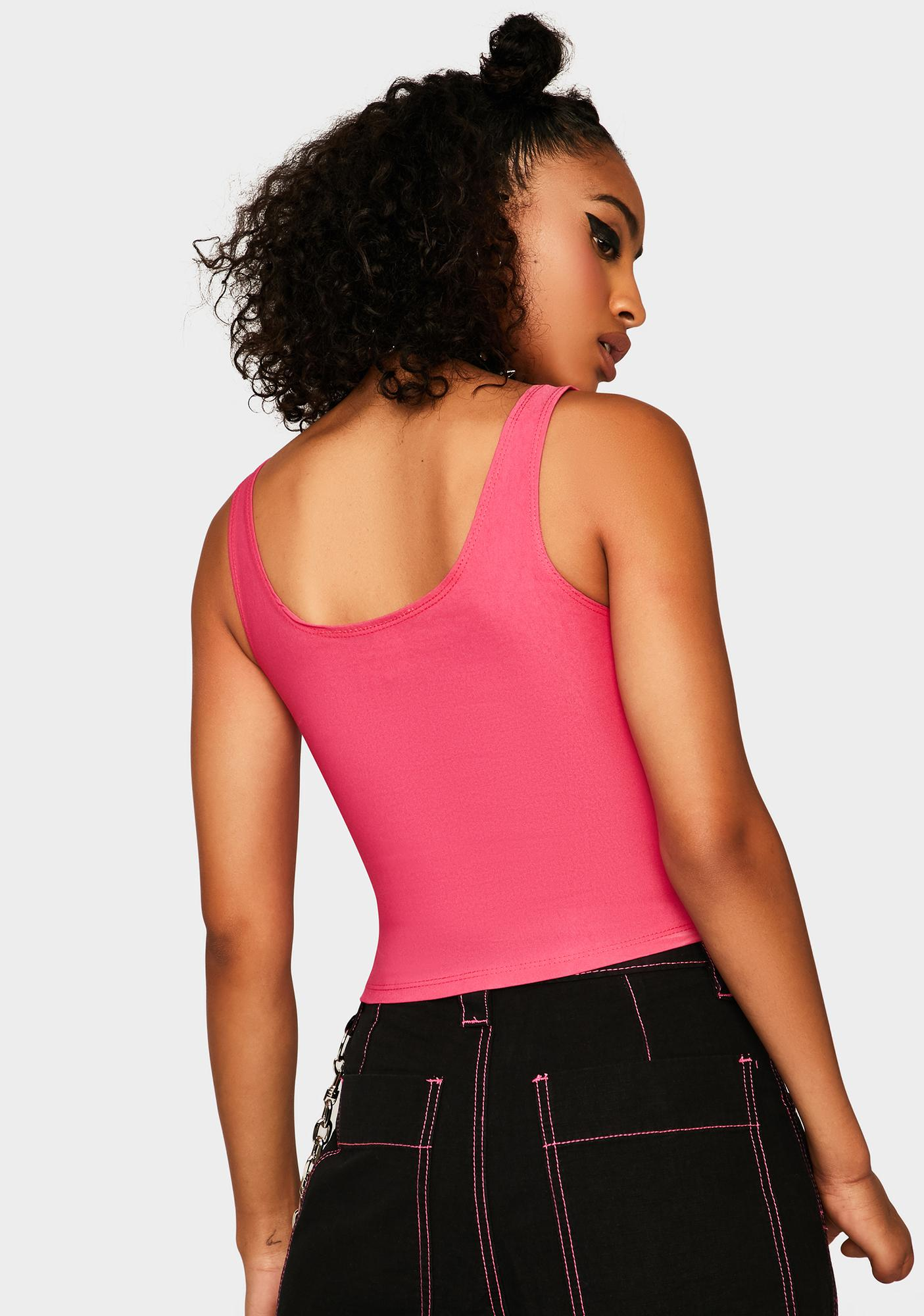Sweetie Hardly Yours Corset Tank