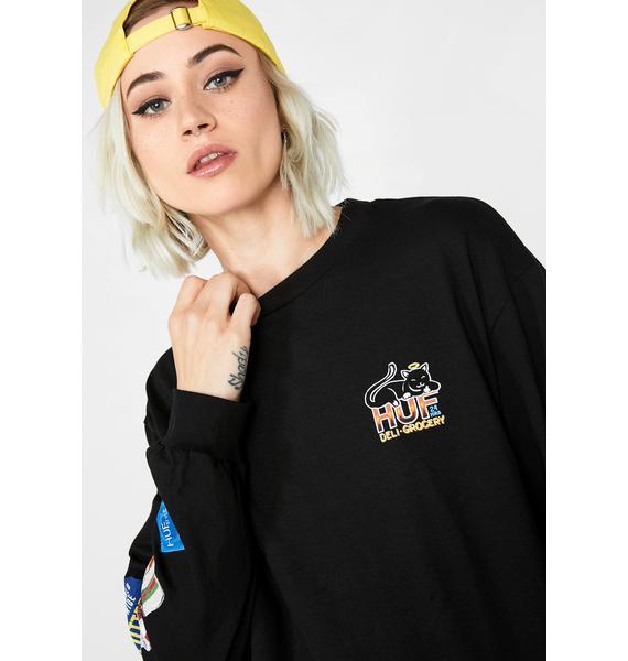 HUF Bodega Long Sleeve T-Shirt