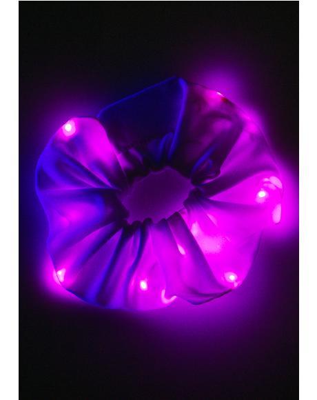 Pinky Popstarr Light Up Scrunchie