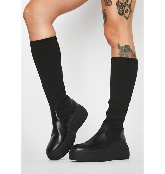 Rebels Brooke Knee High Boots