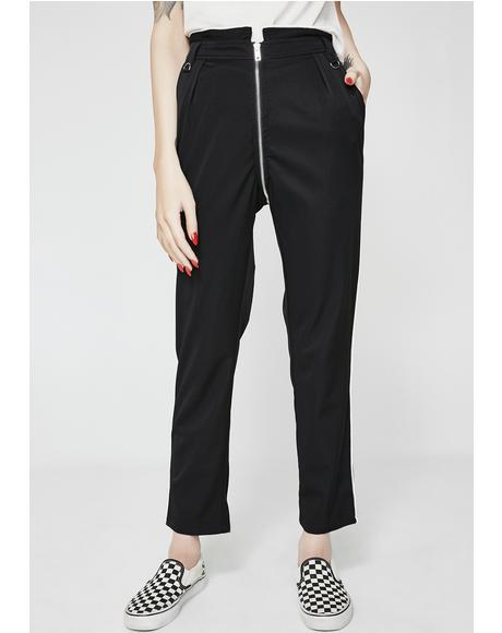 Edith Zip Trousers