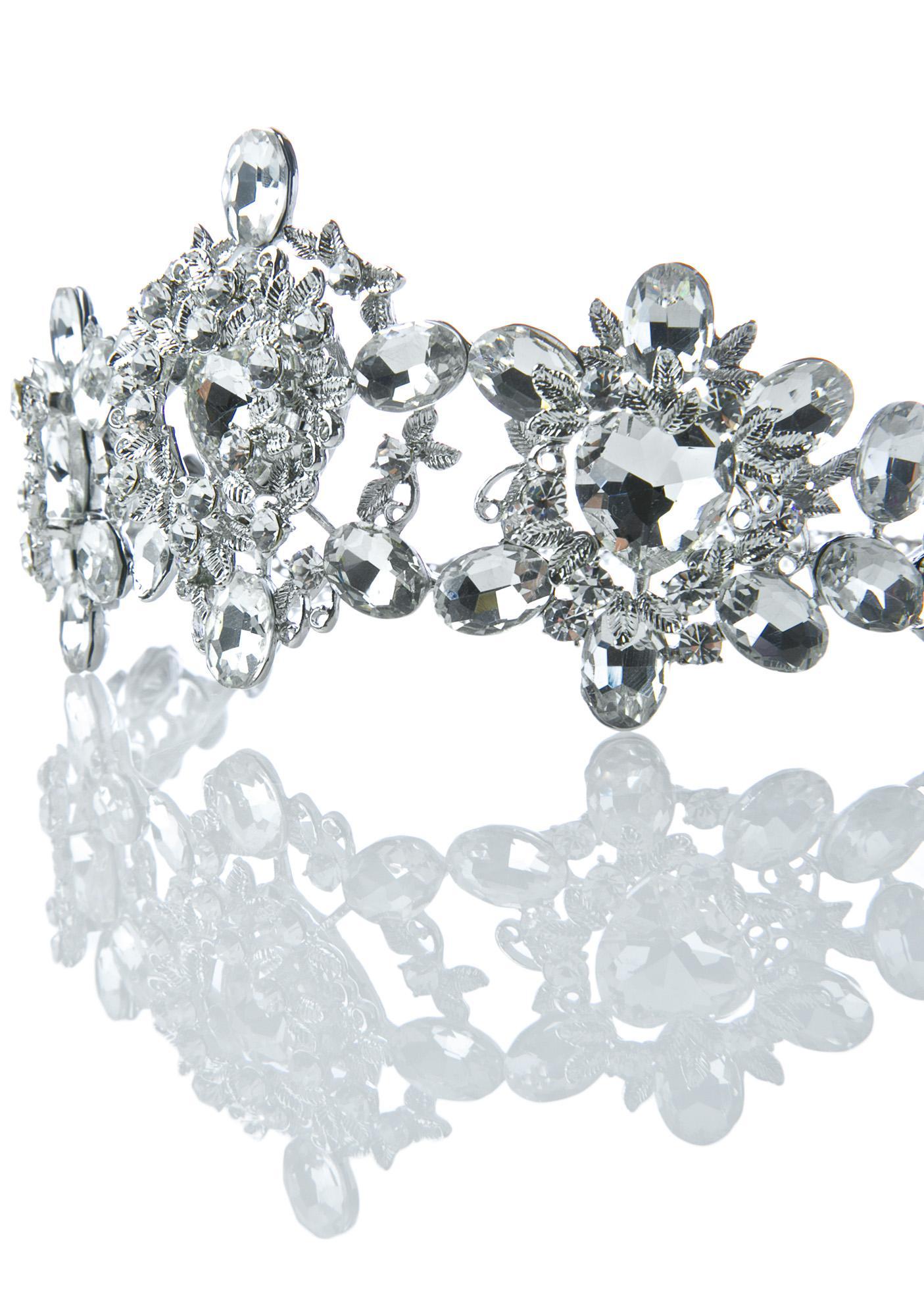 Rock n Rose Helena Crystal Crown