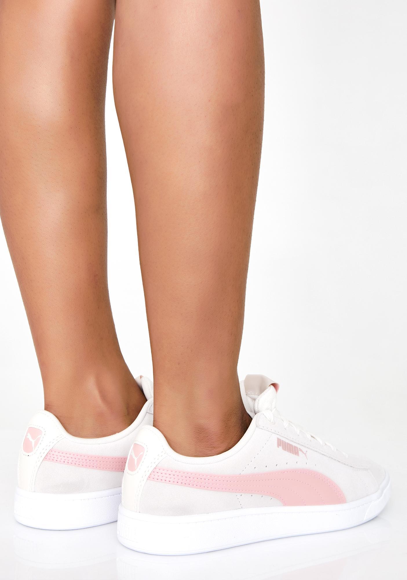 PUMA PUMA Pastel Parchment Vikky v2 Sneakers