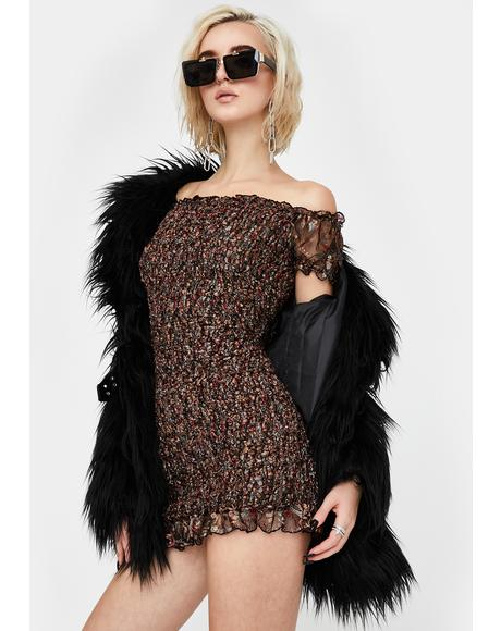 New Year Same Drama Mini Dress