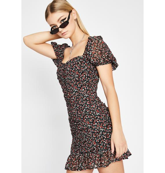 Ready To Bloom Floral Dress