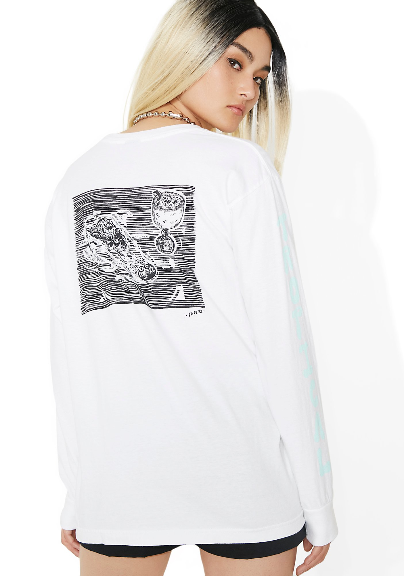 Obey Tropical Casualty Salvage Long Sleeve Tee