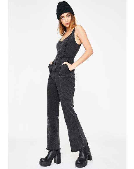 Wayward Impulse Denim Jumpsuit